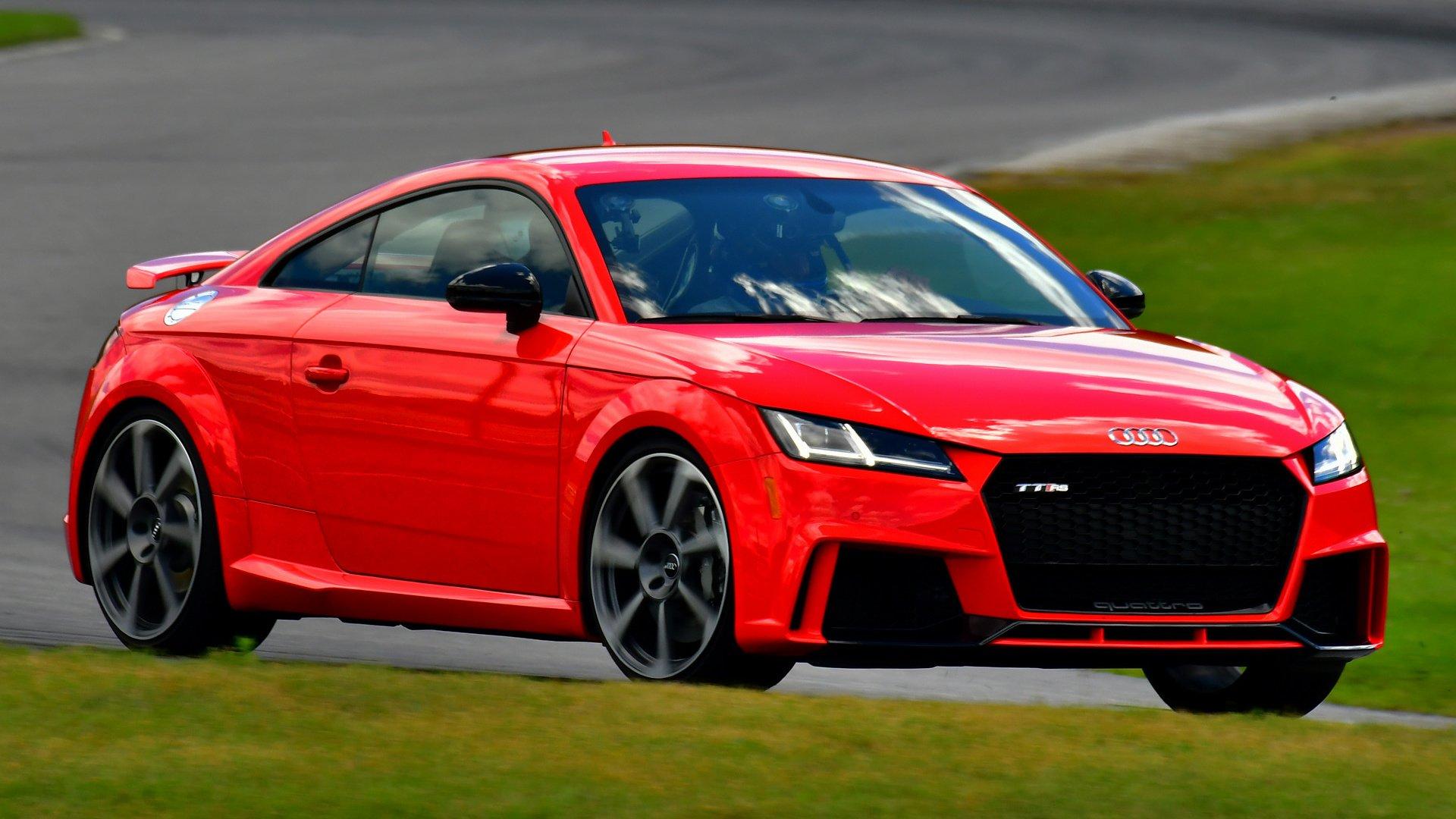 Vehicles - Audi TT RS  Coupé Sport Car Compact Car Red Car Car Wallpaper