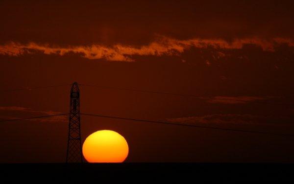 Photography Sunset Africa Landscape Algeria HD Wallpaper | Background Image