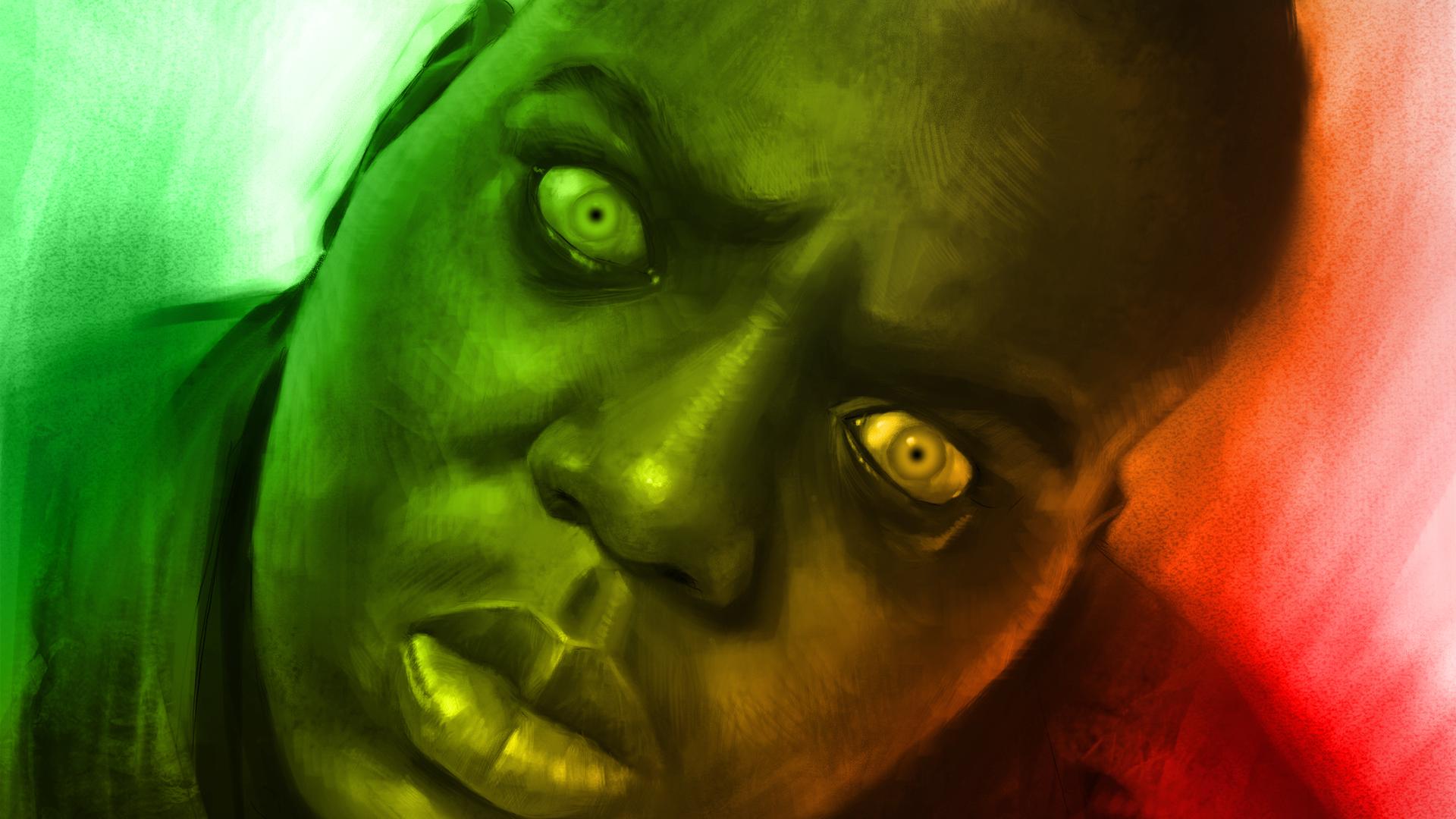 Biggie Mad As Fuck Smalls Hd Wallpaper Background Image