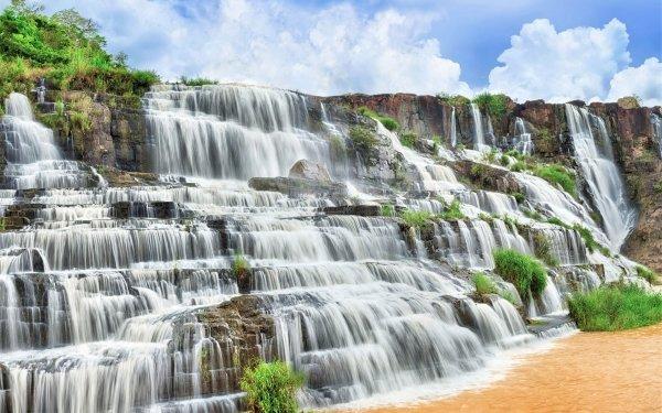 Earth Waterfall Waterfalls HD Wallpaper | Background Image