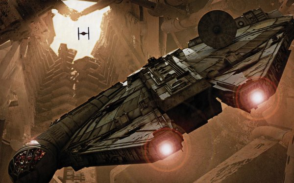 Movie Star Wars Millennium Falcon Star Wars Episode VII: The Force Awakens HD Wallpaper | Background Image