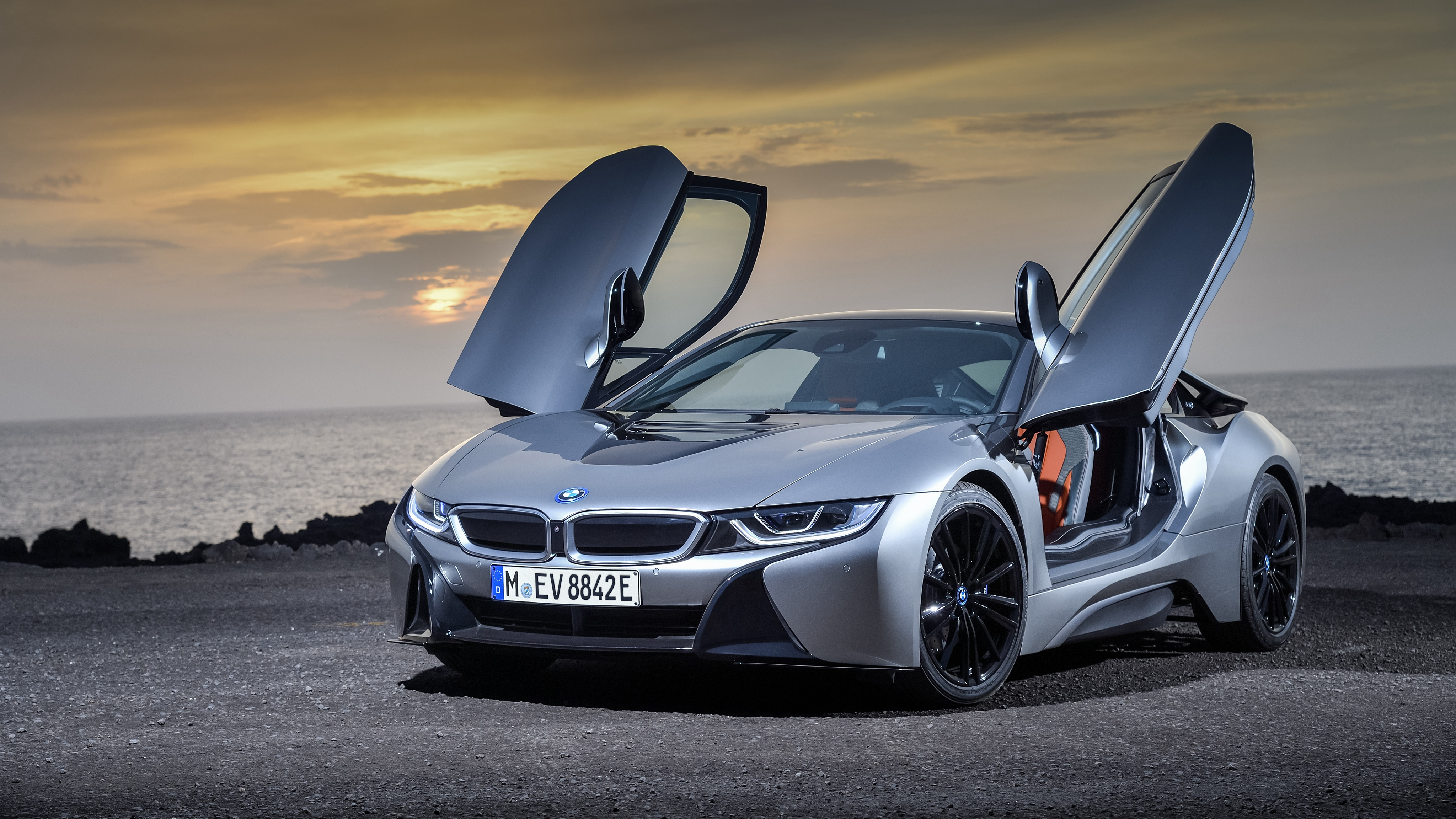 Bmw I8 Car Concept 4k Hd Desktop Wallpaper For 4k Ultra Hd: BMW I8 4k Ultra HD Wallpaper