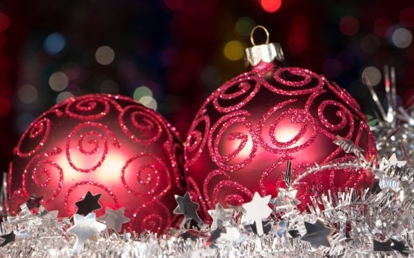 Holiday Christmas Decoration Silver HD Wallpaper | Background Image