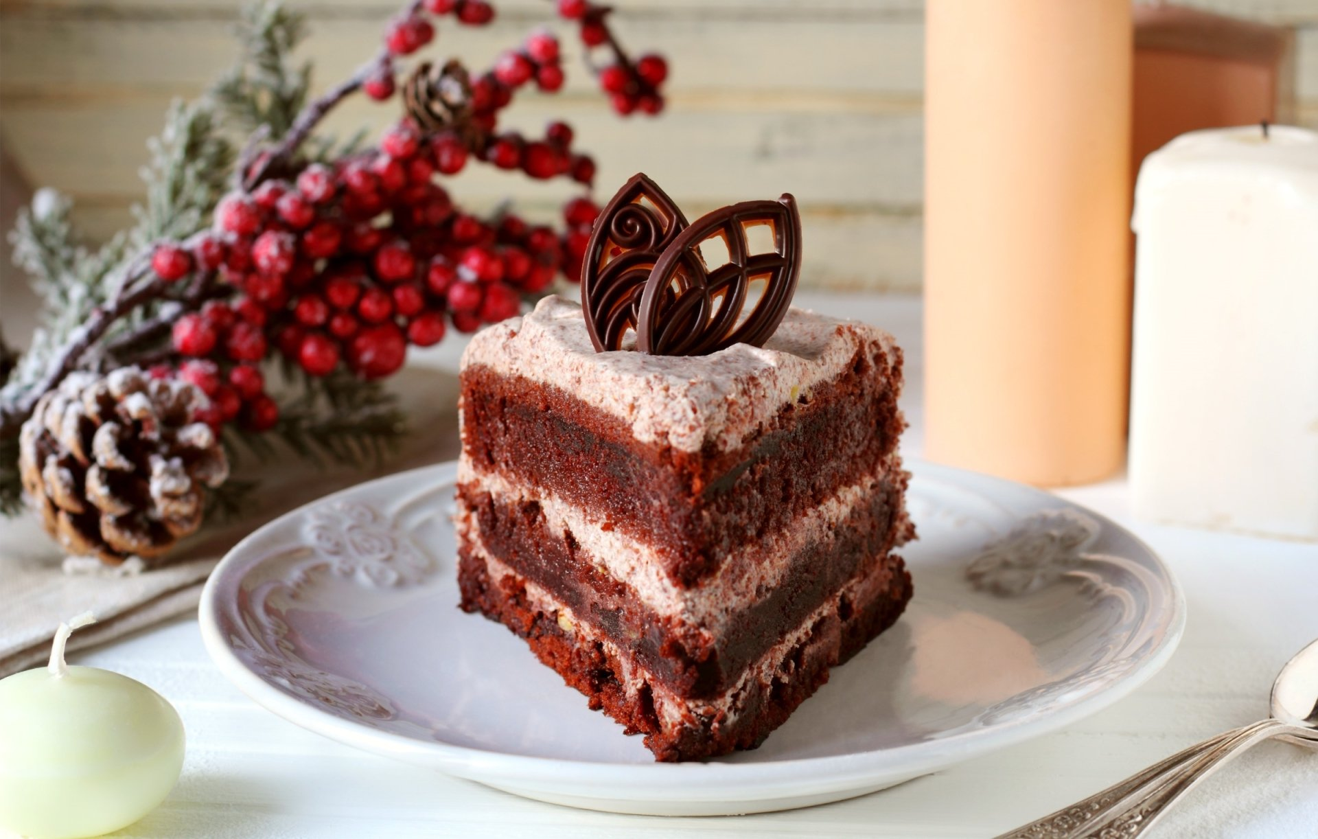 Food - Dessert  Cake Chocolate Pastry Wallpaper