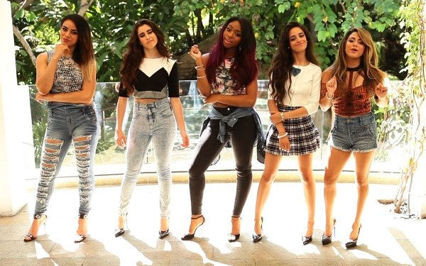 Music Fifth Harmony Band (Music) United States Lauren Jauregui Camila Cabello Ally Brooke Normani Kordei Dinah Jane Girl Band HD Wallpaper | Background Image