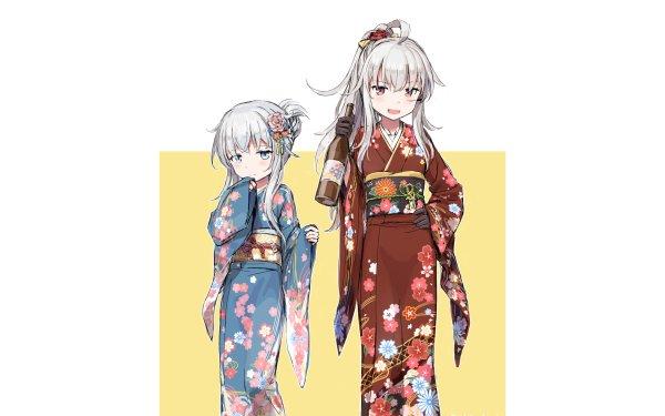 Anime Kantai Collection Hibiki Gangut HD Wallpaper | Background Image