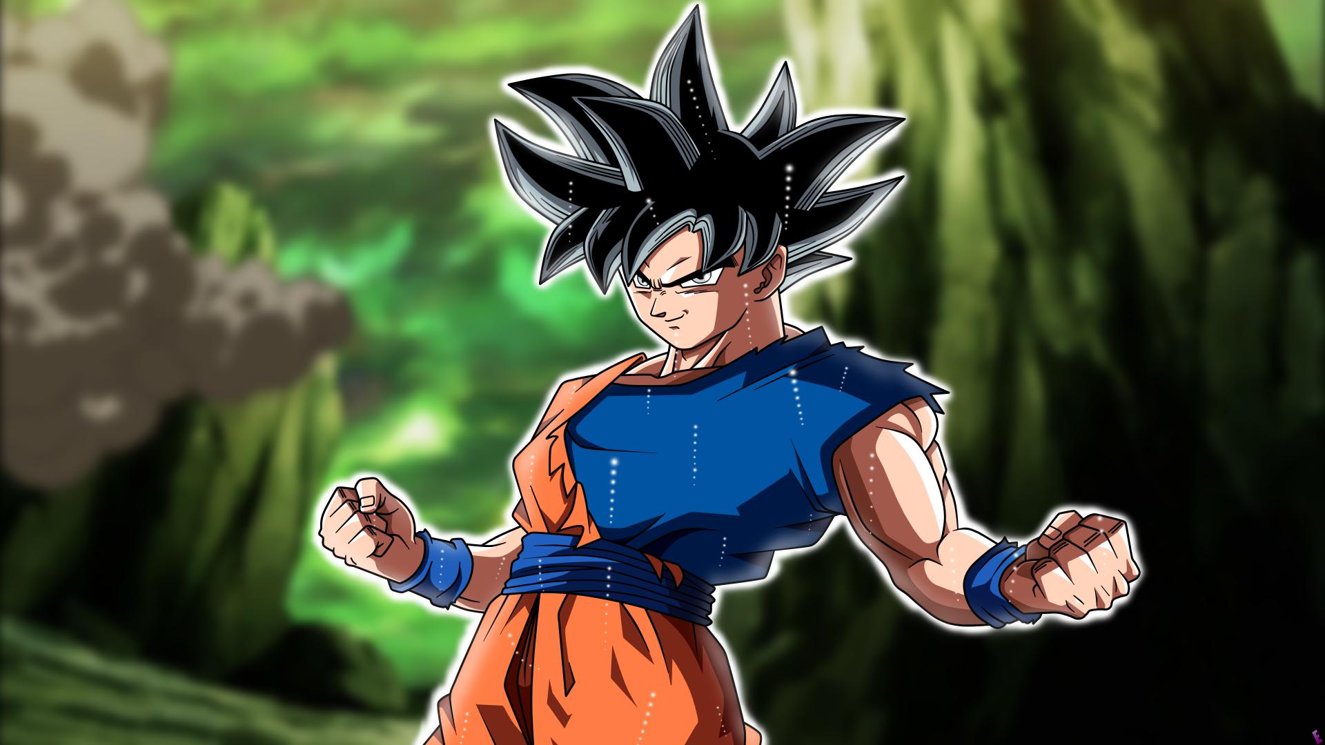 Goku 5k retina ultra hd fond d 39 cran and arri re plan for Fond ecran goku