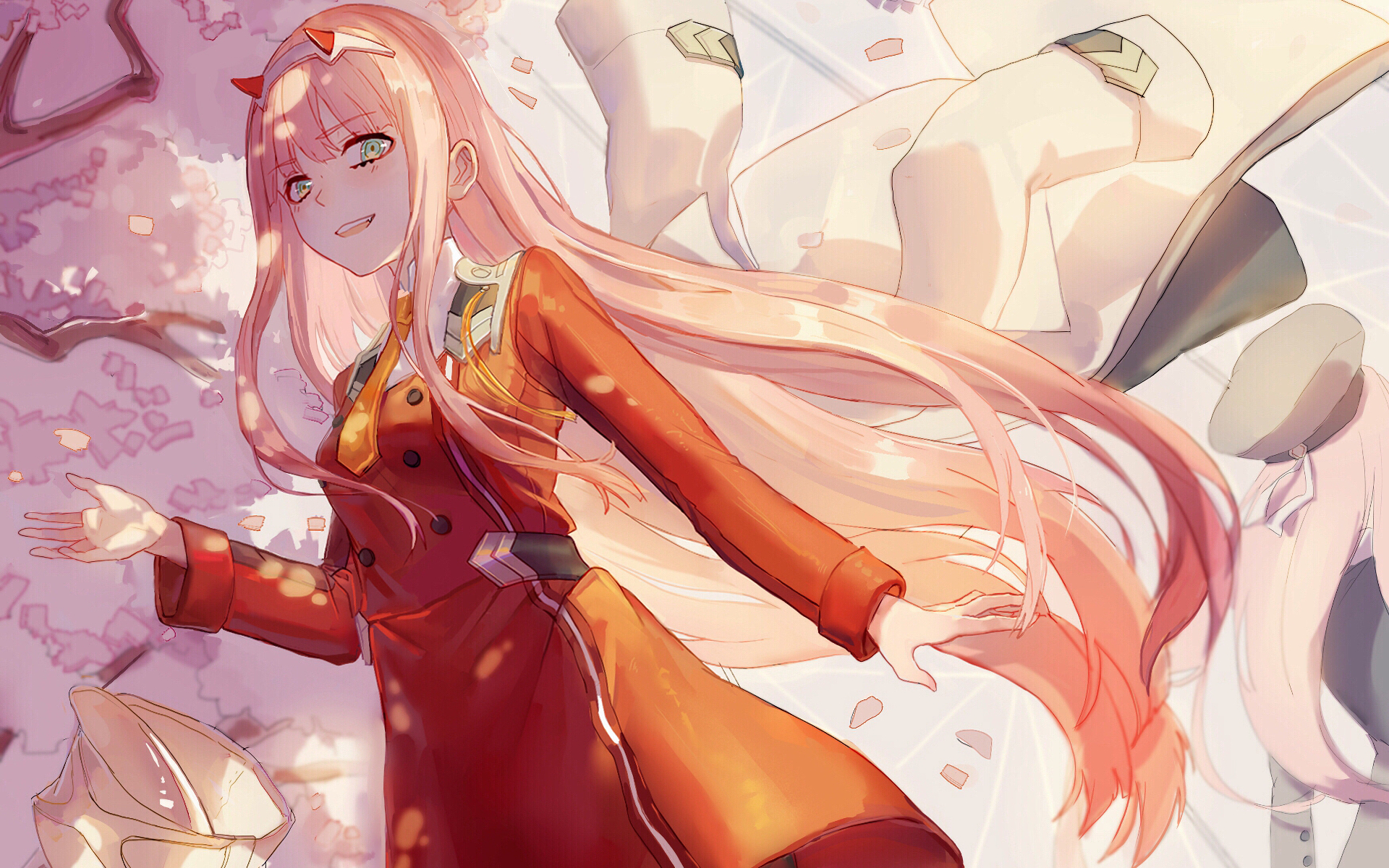 Anime - Darling in the FranXX  Zero Two (Darling in the FranXX) Wallpaper
