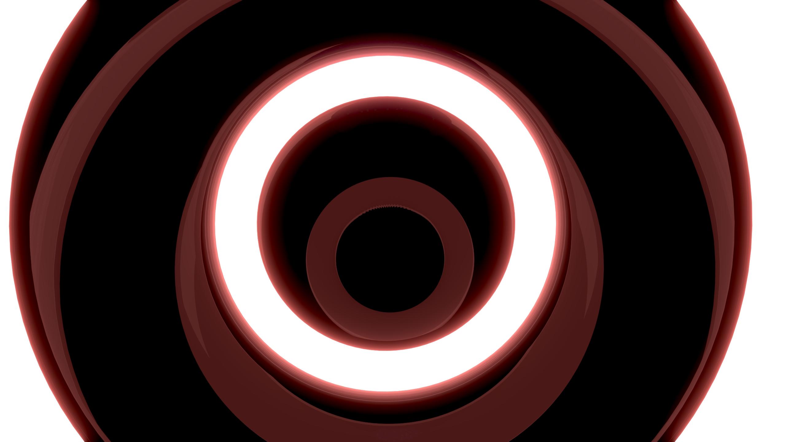Red Rings Fond Décran Hd Arrière Plan 2560x1440 Id