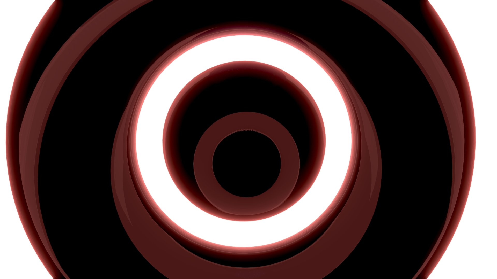 Abstract - Digital Art  3D CGI Red Abstract Black Artistic Wallpaper