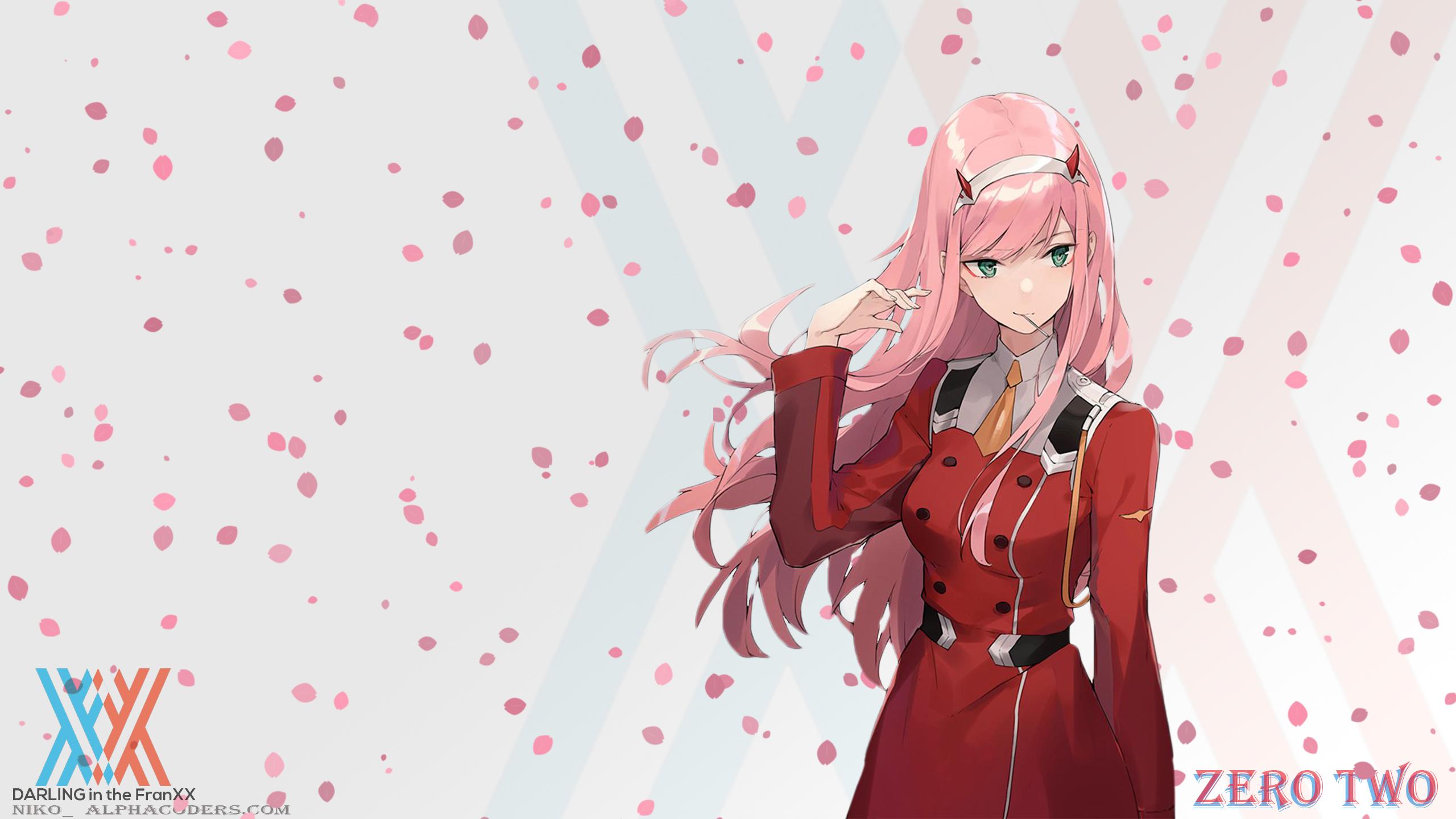 600+ Wallpaper Anime Hd Zero Two  Paling Baru
