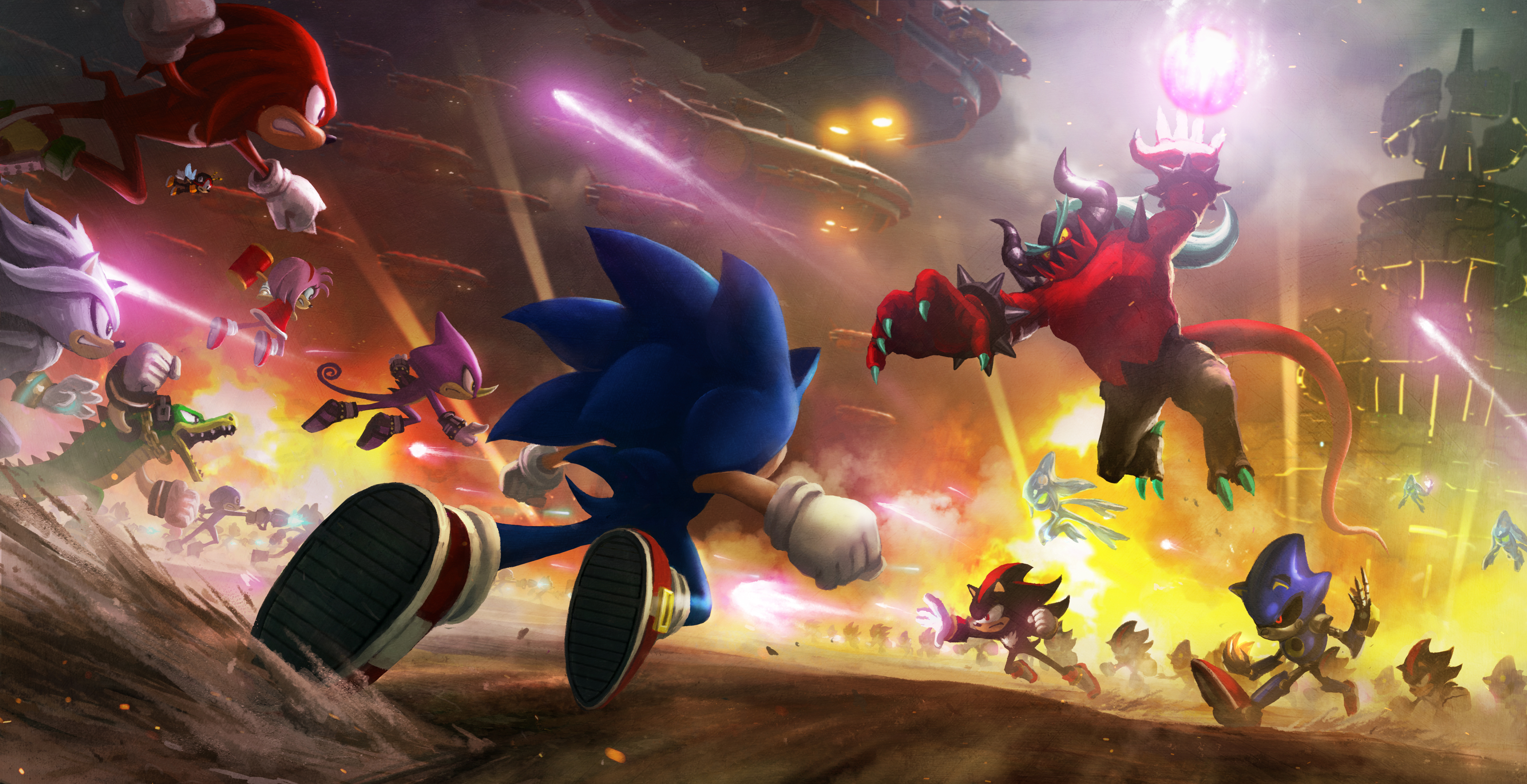 17 Metal Sonic HD Wallpapers | Background Images - Wallpaper
