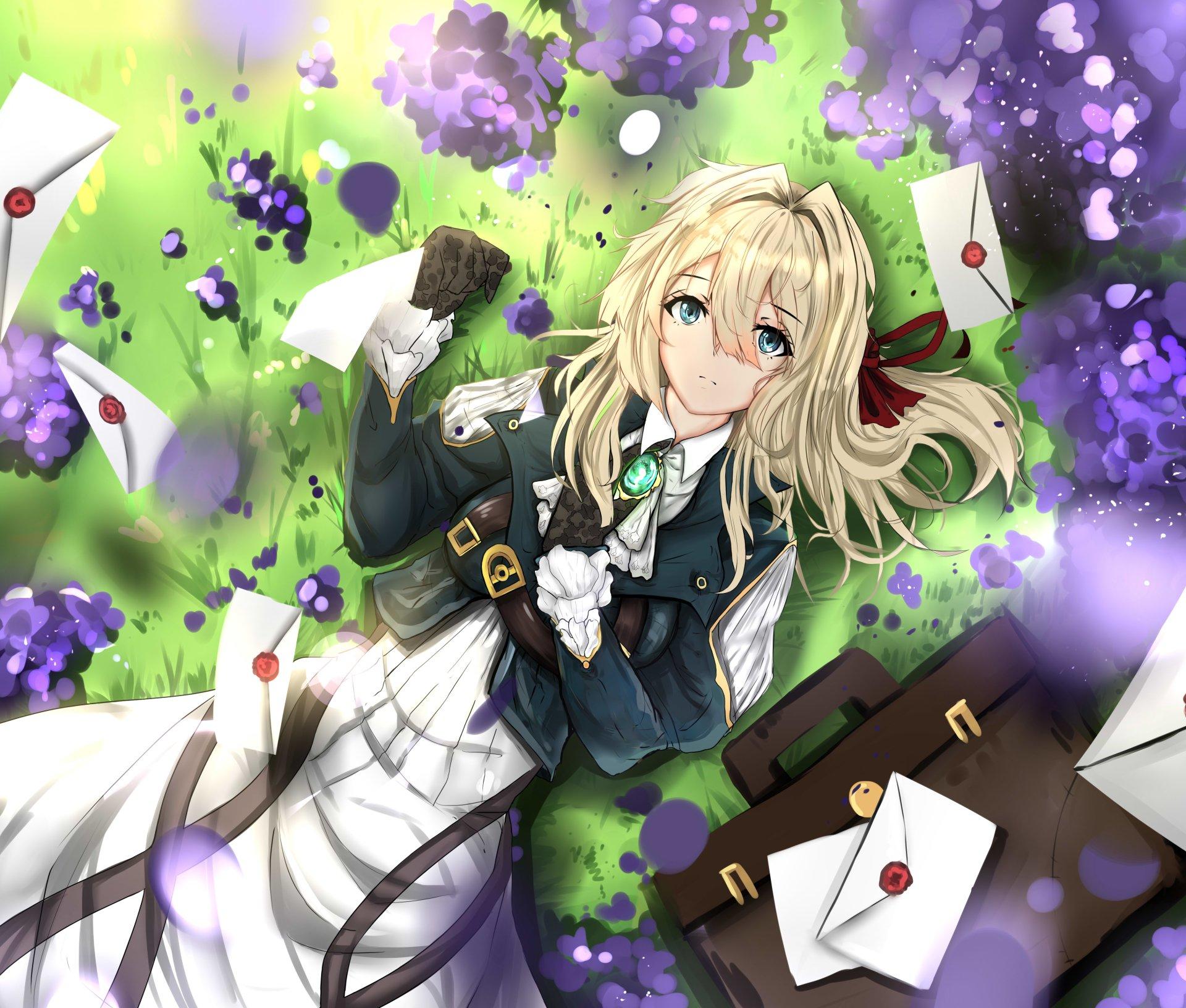 动漫 - 紫罗兰永恒花园  Violet Evergarden (Character) 壁纸
