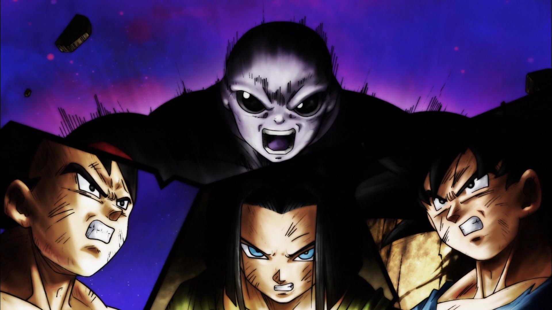 Anime - Dragon Ball Super  Vegeta (Dragon Ball) Android 17 (Dragon Ball) Jiren (Dragon Ball) Goku Wallpaper