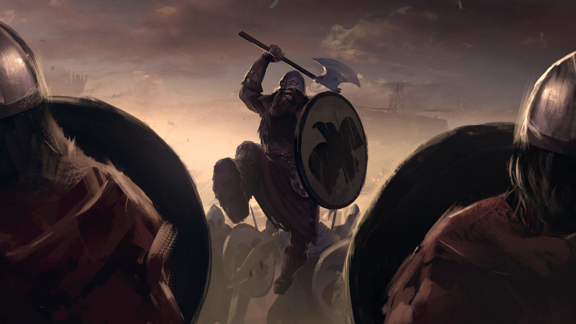 电子游戏 - Total War Saga: Thrones of Britannia  壁纸