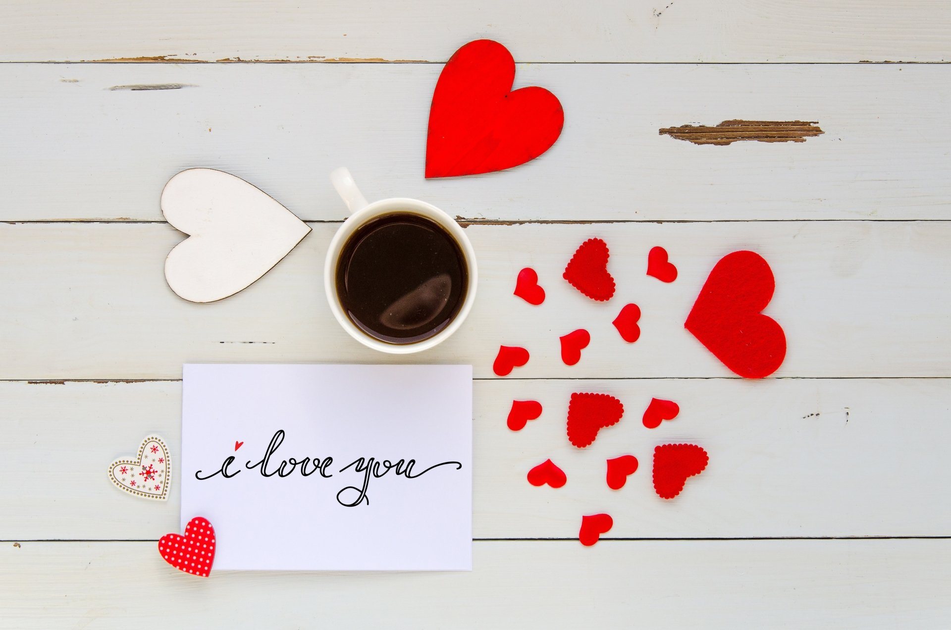 Holiday - Valentine's Day  Coffee Heart Love Romantic Cup Wallpaper