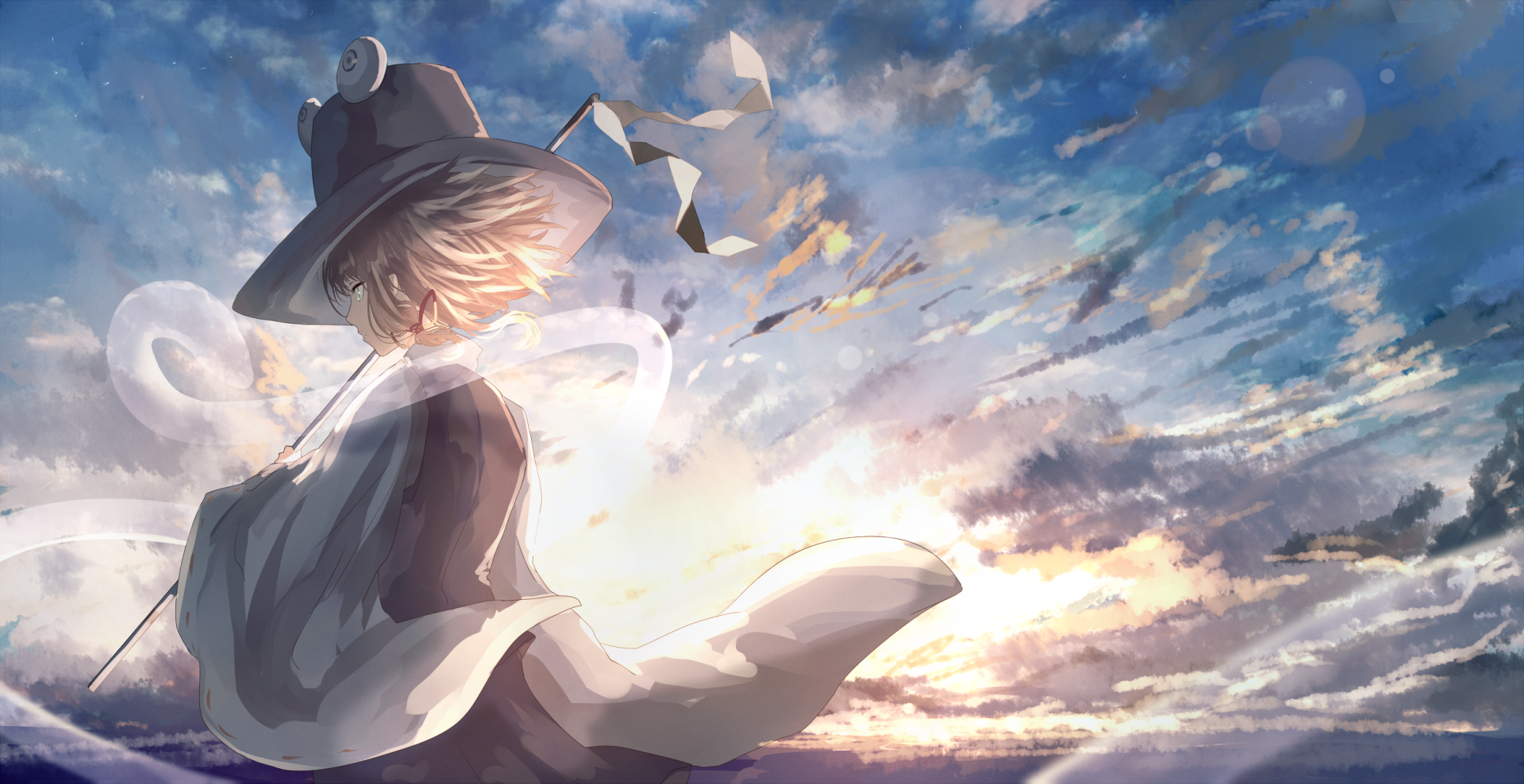 Anime - Touhou  Suwako Moriya Wallpaper