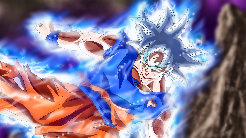 Goku Vs Jiren Masterd Ultra Instinct 5k Retina Ultra Fondo