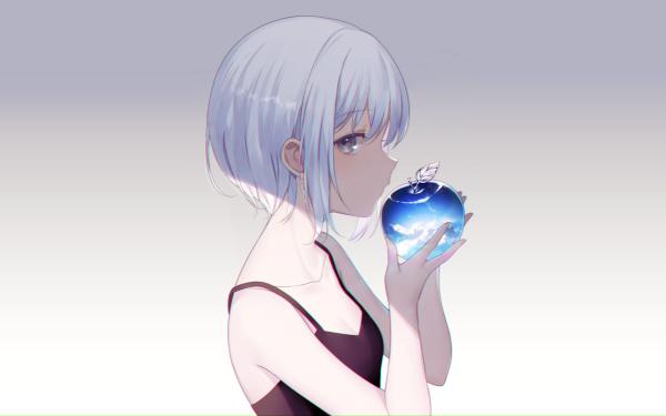 Anime Original Apple HD Wallpaper   Background Image