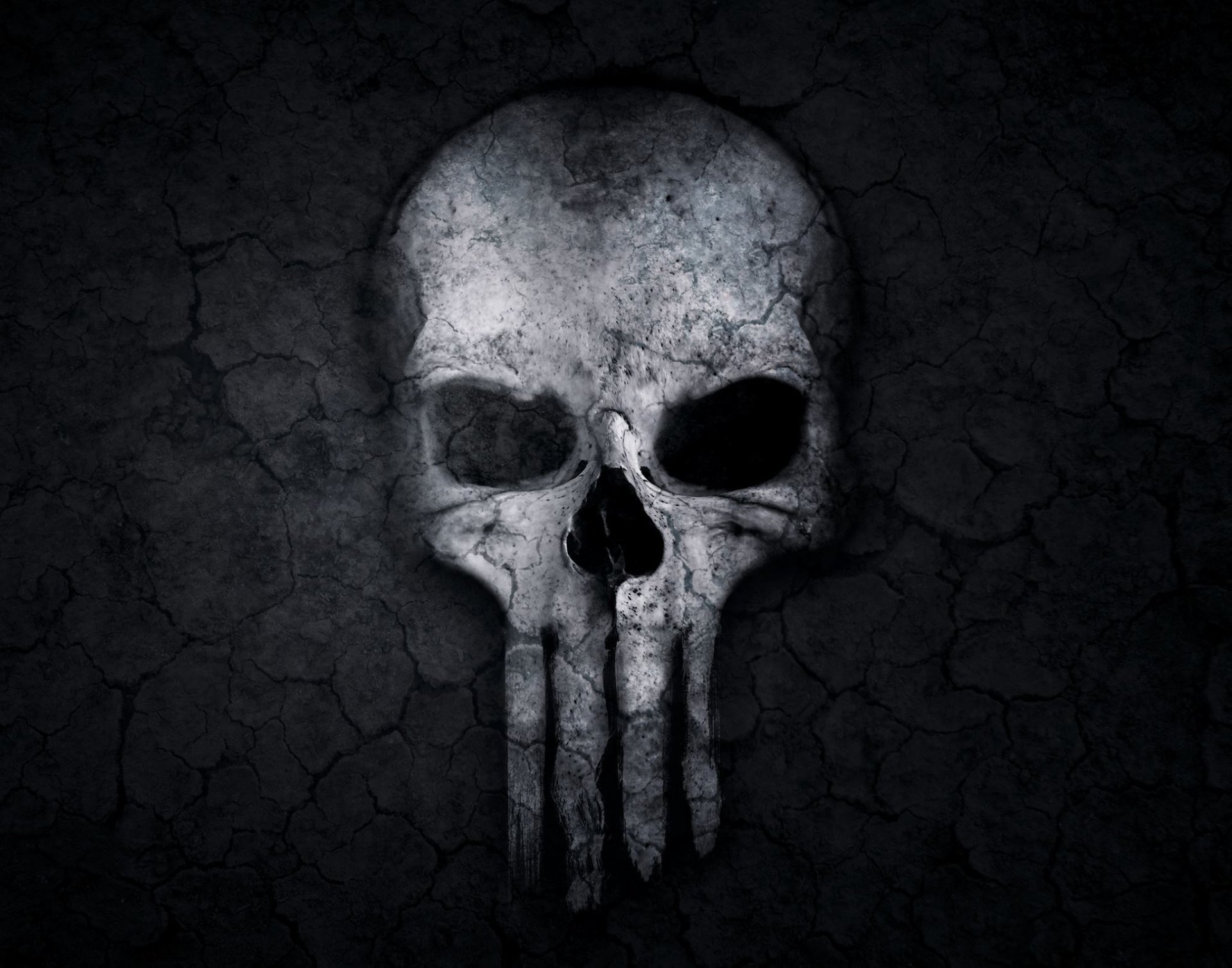 Dark - Skull  Dark Creepy Wallpaper