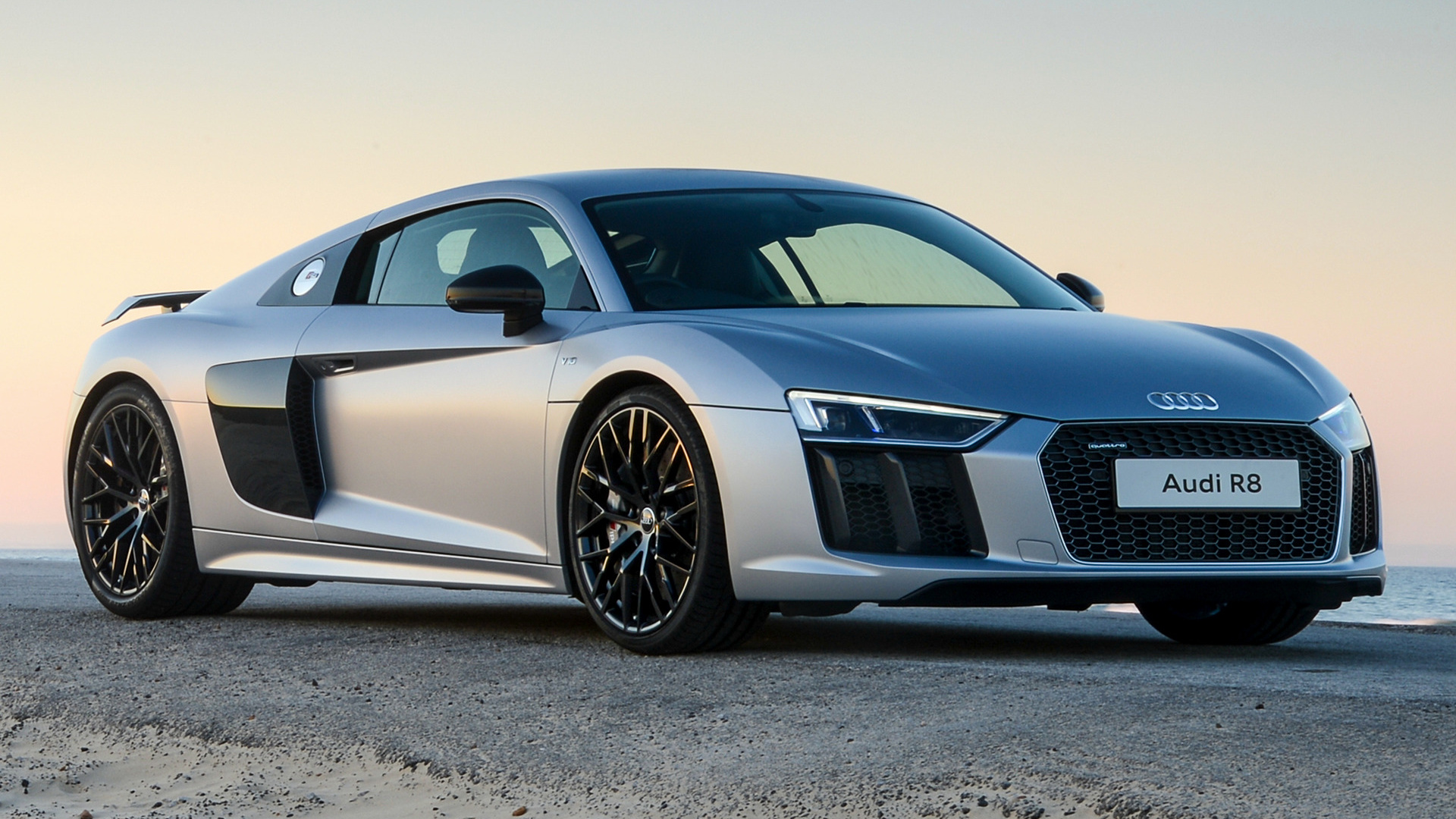 2016 Audi R8 V10 plus Full HD Wallpaper and Background Image | 1920x1080 | ID:906809