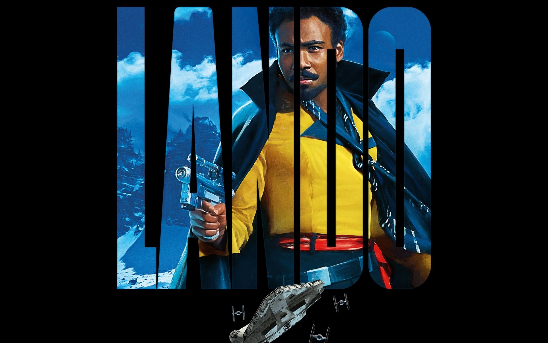 Movie - Solo: A Star Wars Story  Star Wars Donald Glover Lando Calrissian Wallpaper