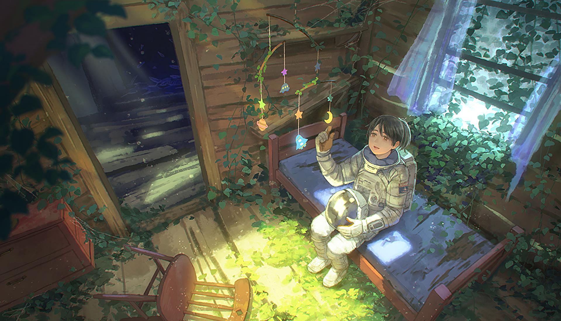 Anime - Original  Astronaut Wallpaper