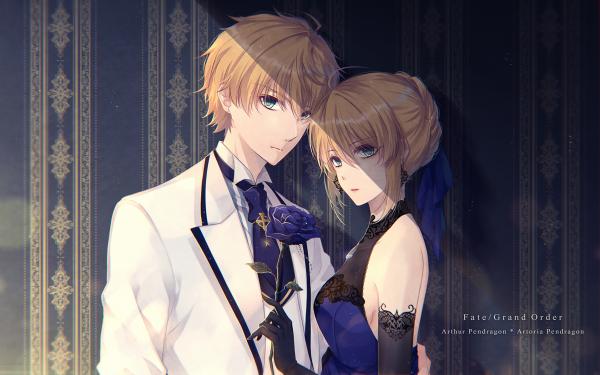 Anime Fate/Grand Order Fate Series Artoria Pendragon Arthur Pendragon HD Wallpaper   Background Image