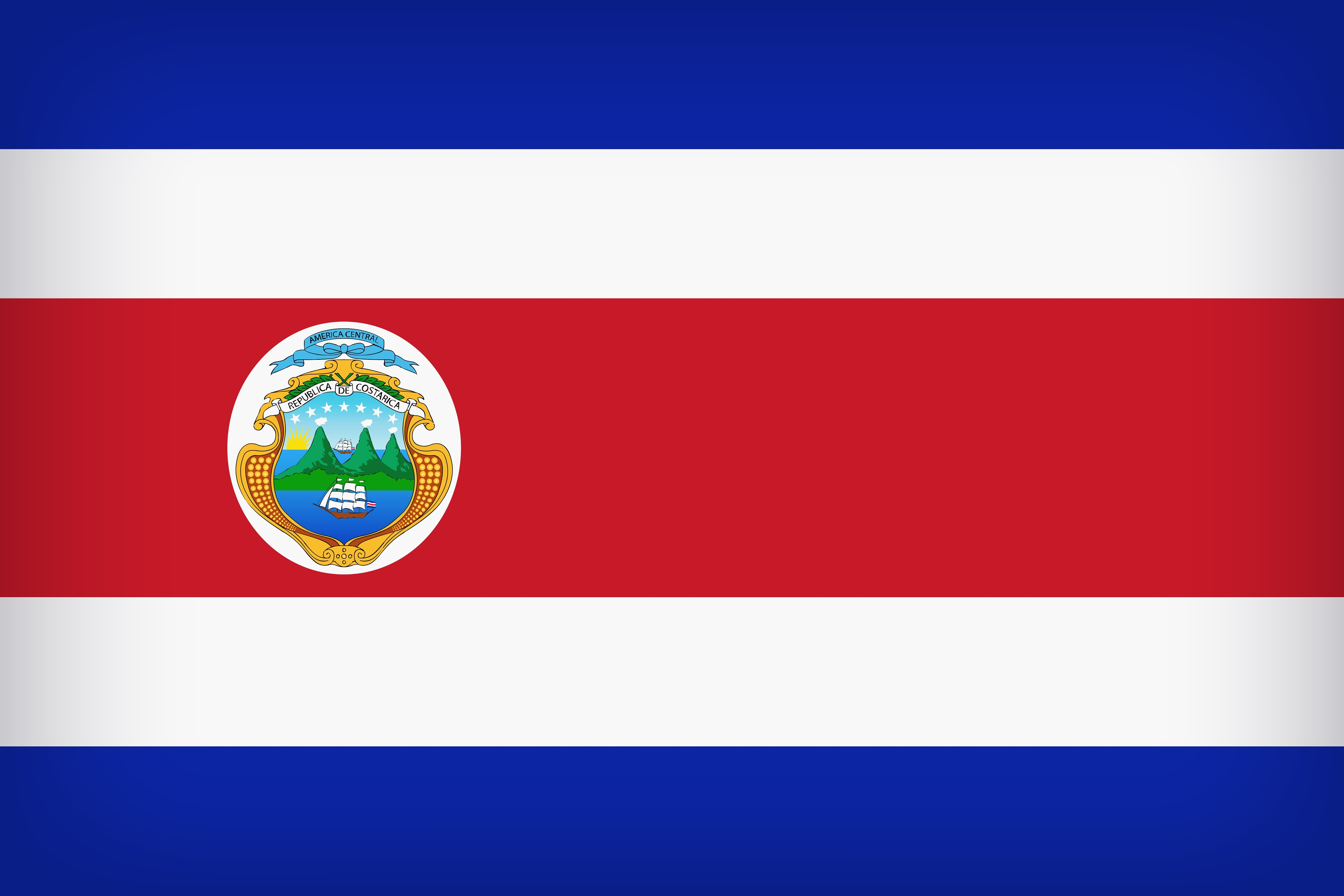 Flag Of Costa Rica 4k Ultra HD Wallpaper And Background Image