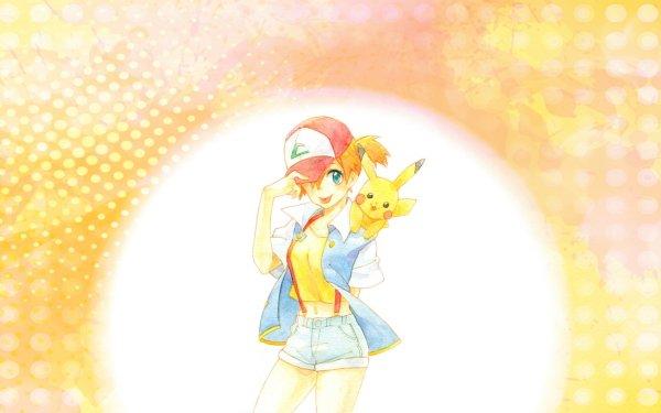 Anime Pokémon Misty Pikachu Fondo de pantalla HD | Fondo de Escritorio
