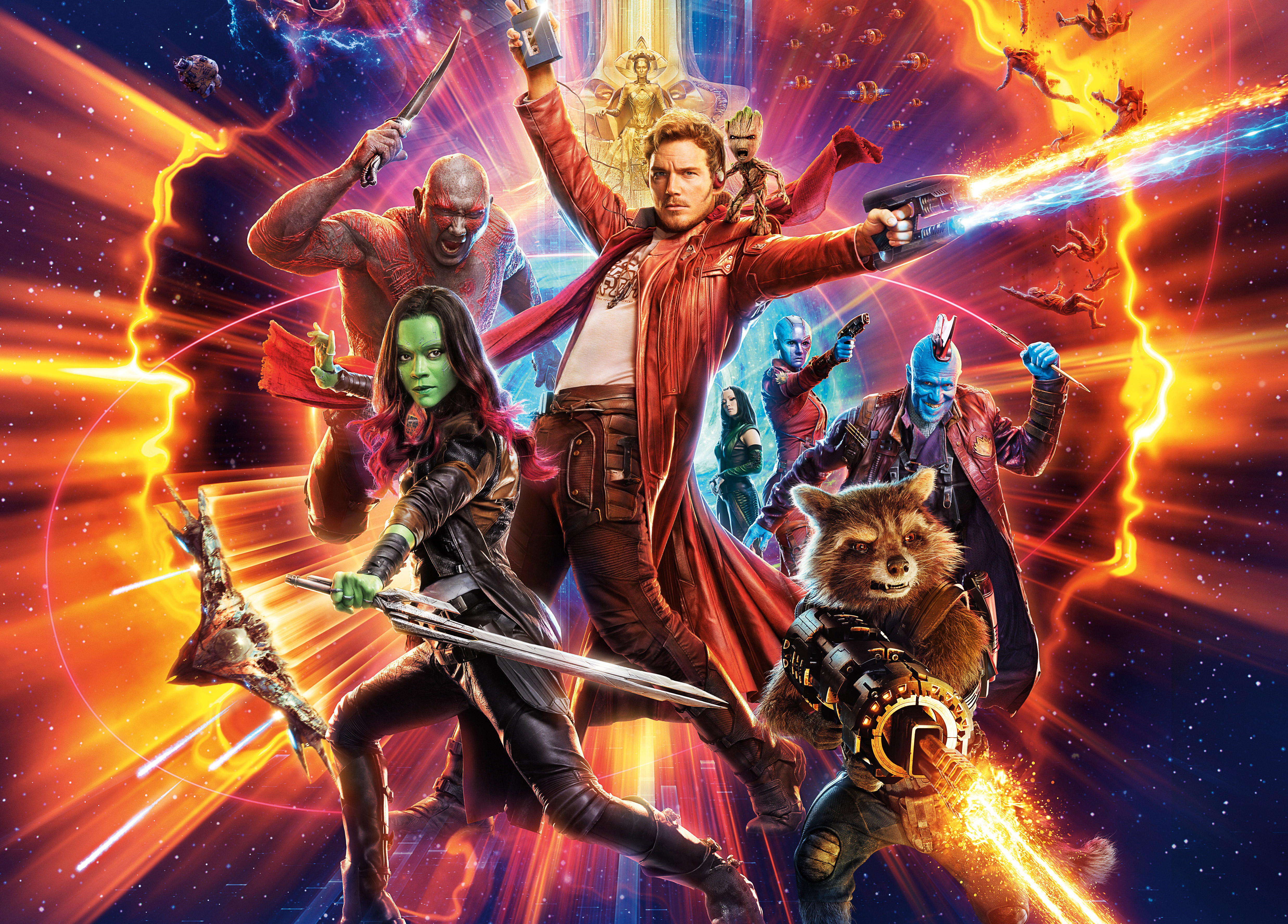 Guardians Of The Galaxy Vol 2 4k Ultra Hd Wallpaper Background Image 4950x3552 Id 913835 Wallpaper Abyss