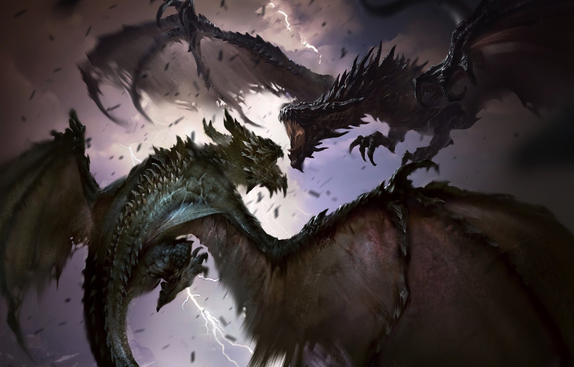 Video Game - The Elder Scrolls: Legends  Dragon Wallpaper