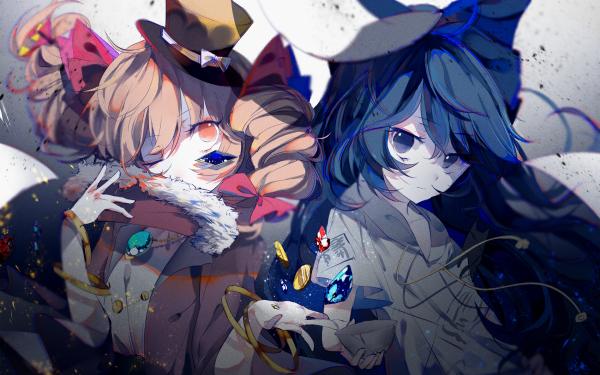 Anime Touhou Joon Yorigami Shion Yorigami HD Wallpaper | Background Image