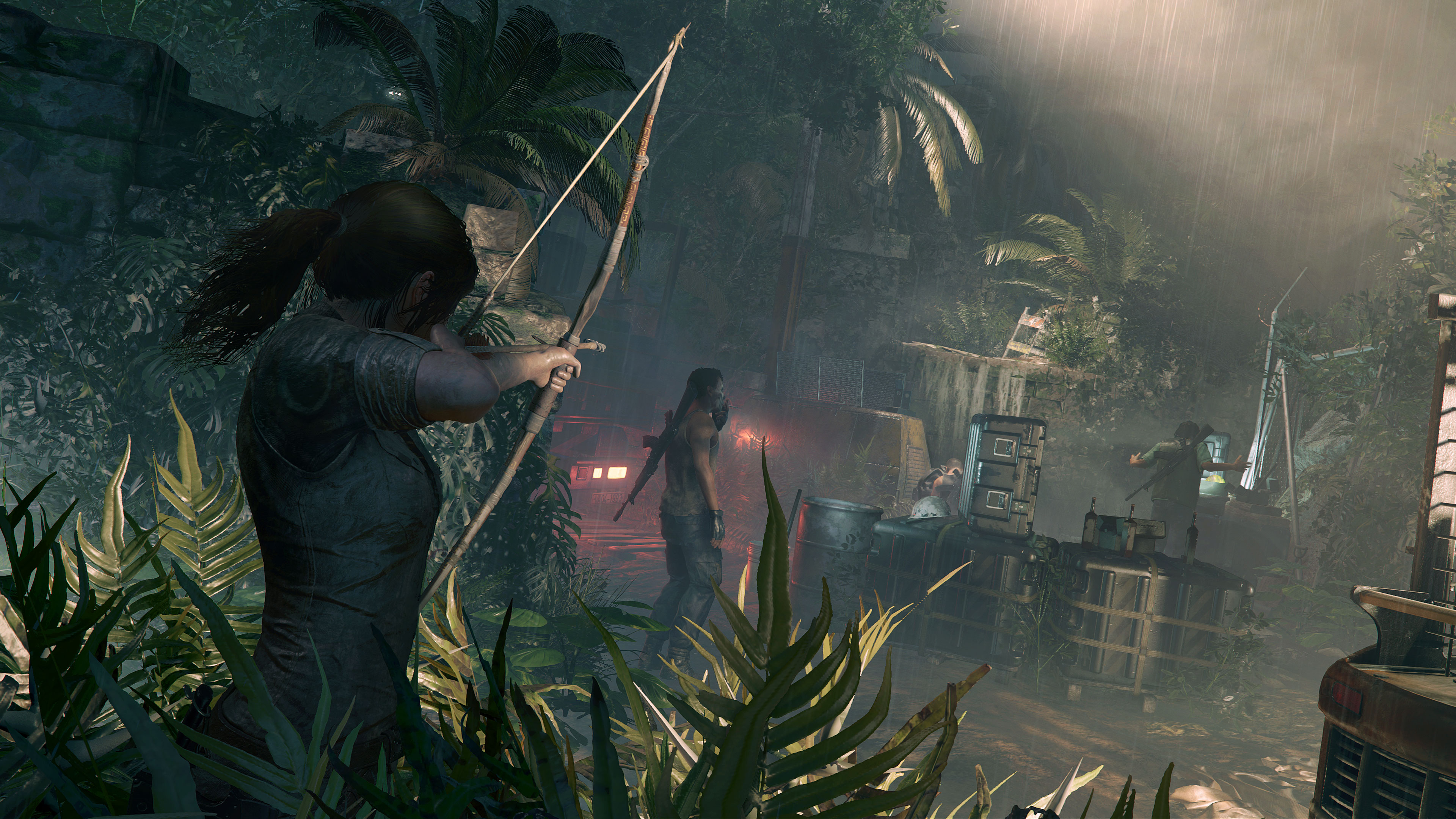 Shadow Of The Tomb Raider 4k Ultra Hd Wallpaper Background Image