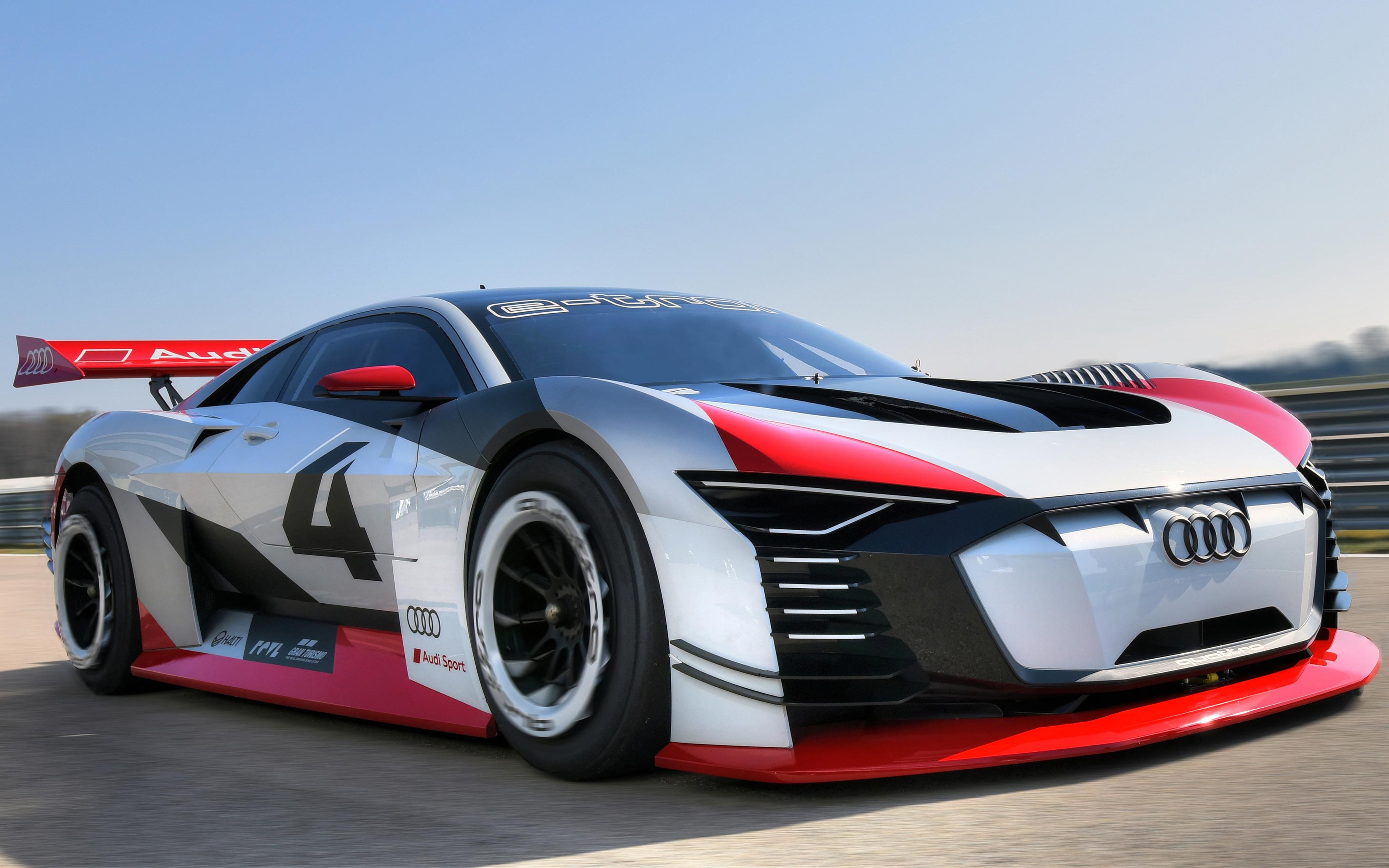Audi E Tron Vision Gran Turismo 2018 4k 4k Ultra Fondo De