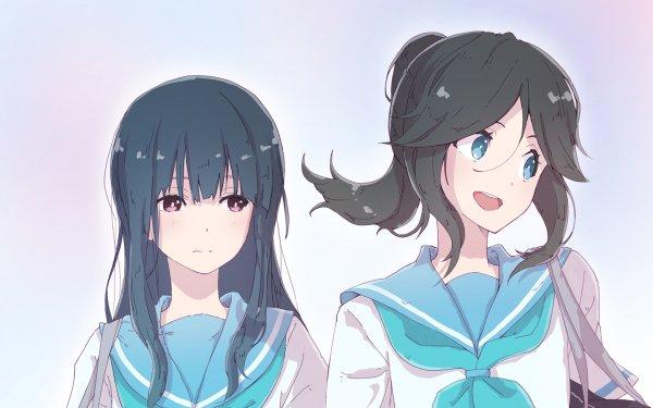 Anime Sound! Euphonium Nozomi Kasaki Mizore Yoroizuka HD Wallpaper   Background Image