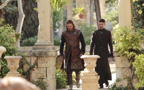 TV Show Game Of Thrones Eddard Stark Petyr Baelish Sean Bean Aidan Gillen HD Wallpaper | Background Image