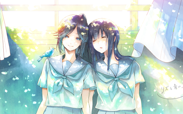Anime Sound! Euphonium Nozomi Kasaki Mizore Yoroizuka HD Wallpaper | Background Image