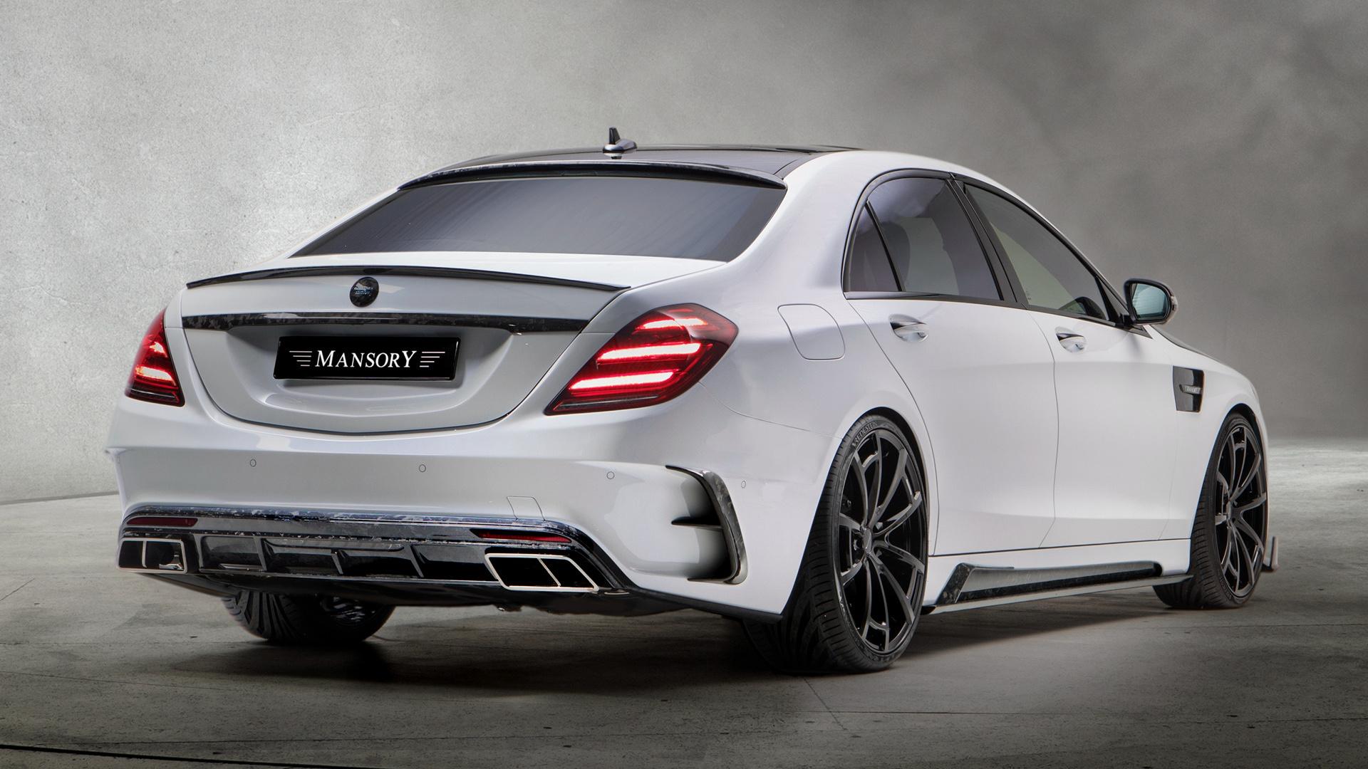 2018 Mercedes Amg S 63 Signature Edition By Mansory Fondo De