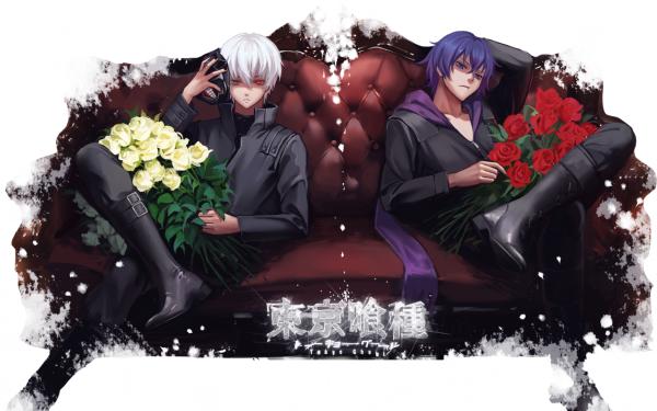 Anime Tokyo Ghoul Ken Kaneki Ayato Kirishima HD Wallpaper | Background Image