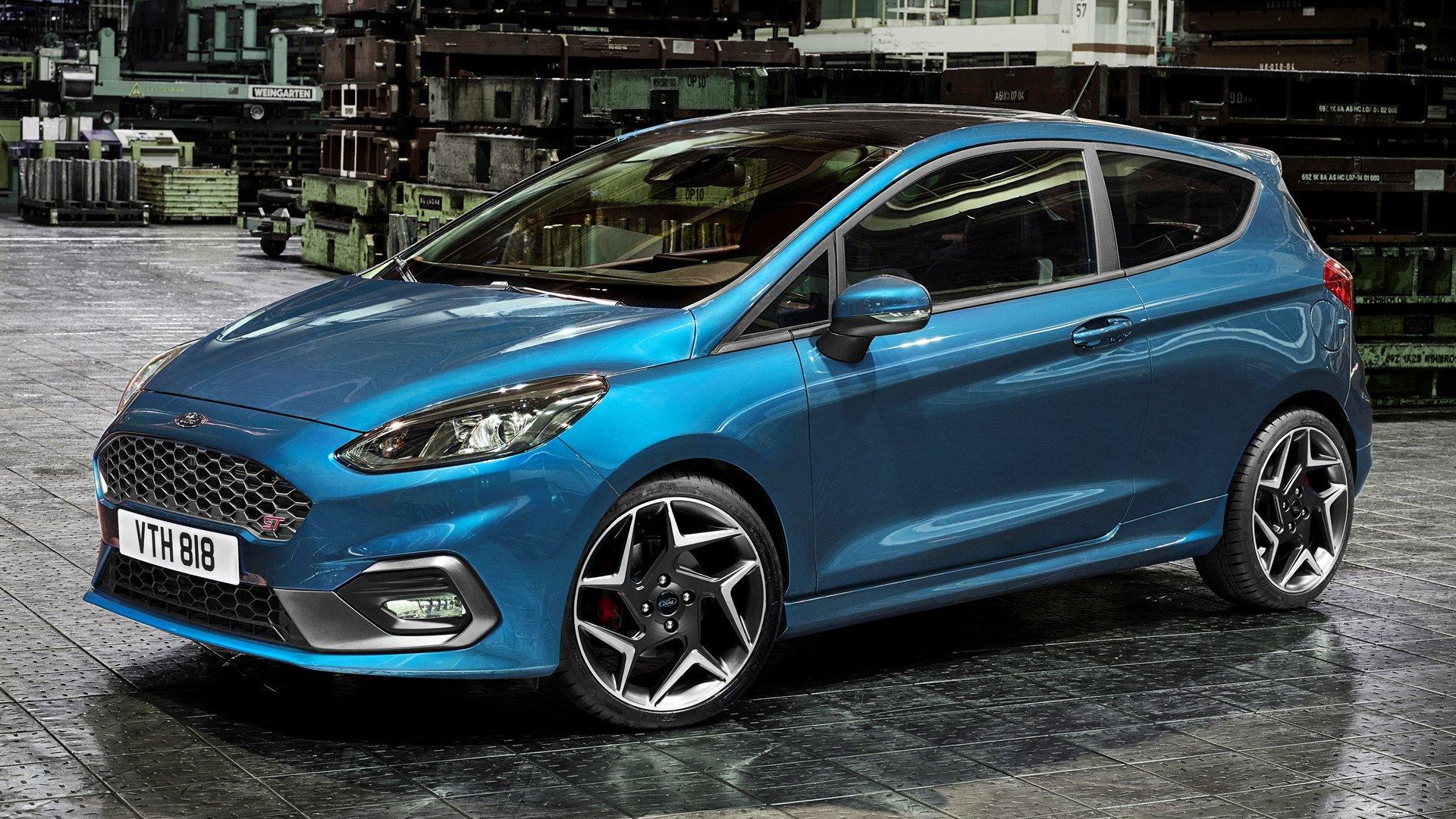 2018 Ford Fiesta St 3 Door Fond Décran Hd Arrière Plan