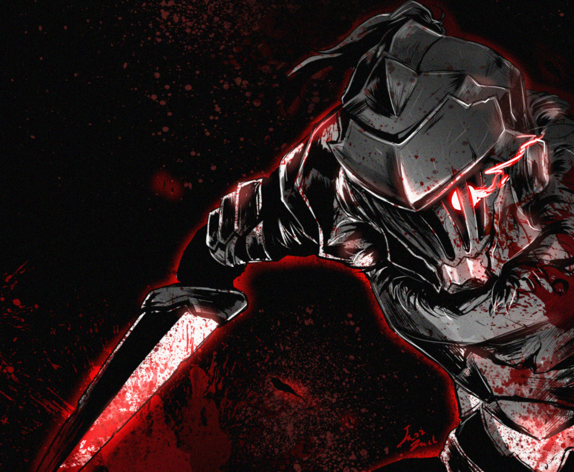 goblin slayer hd wallpaper background image 1920x1581