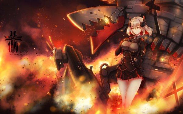Anime Azur Lane Roon HD Wallpaper | Background Image