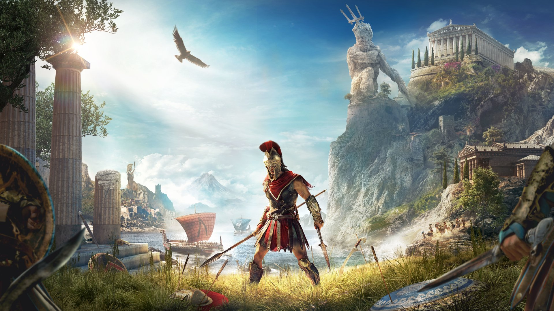 125 Assassin S Creed Odyssey Hd Wallpapers Background Images
