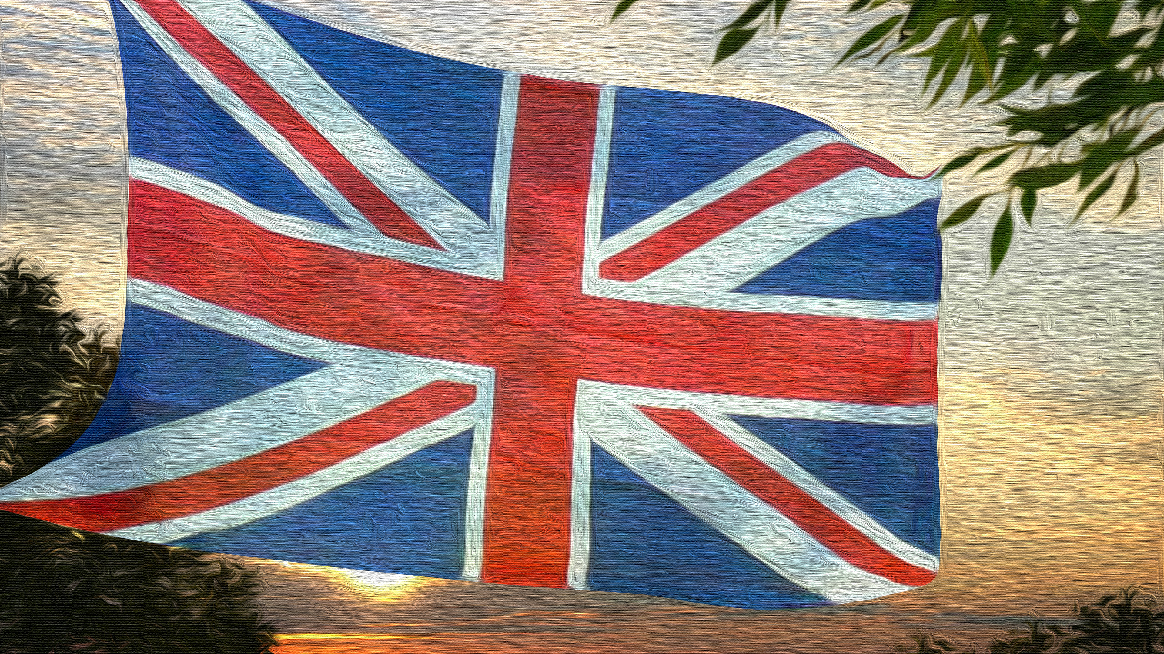 Misc  Union Jack Artistic Flag Wallpaper