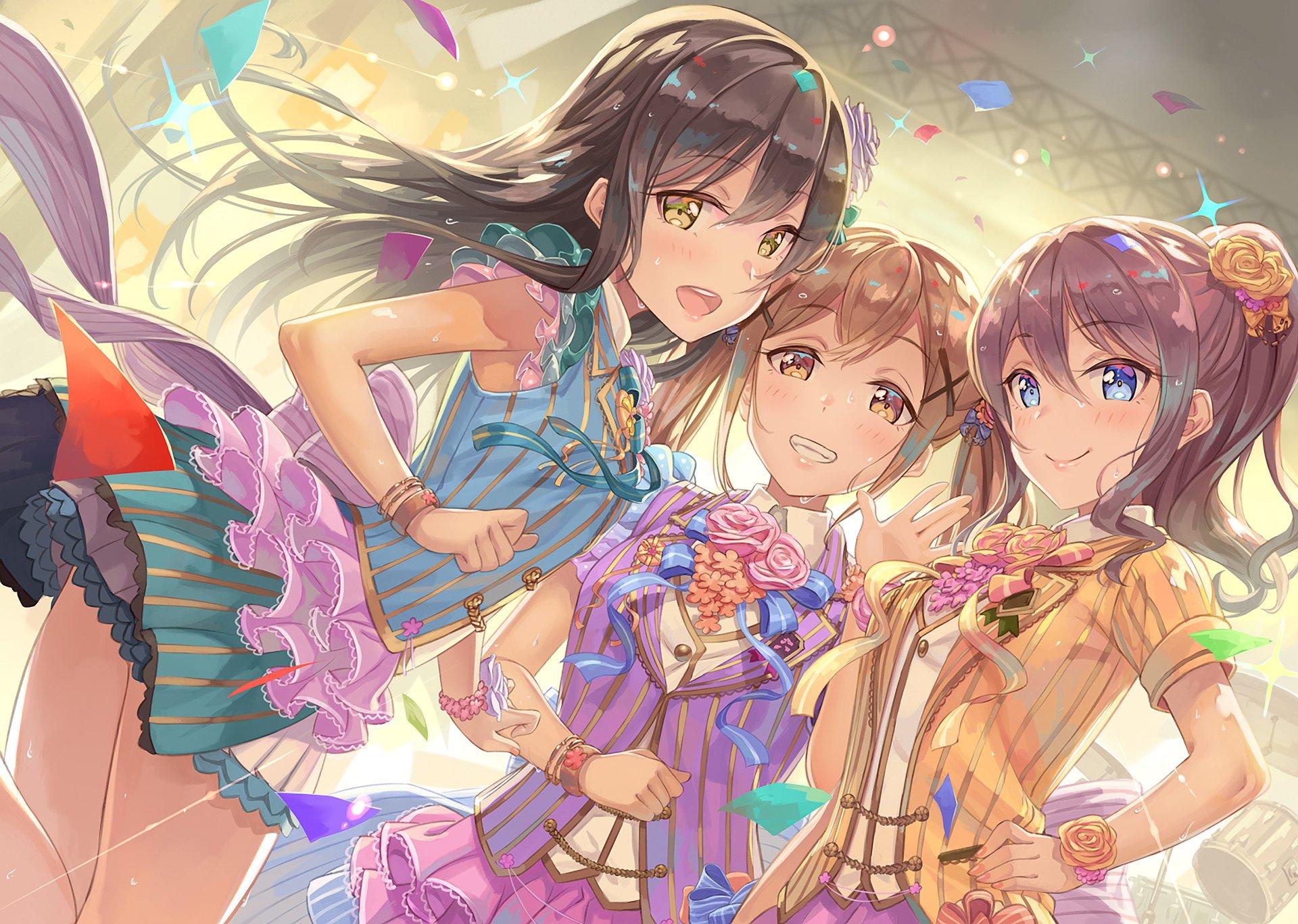 Resultado de imagen de bang dream anime wallpapers
