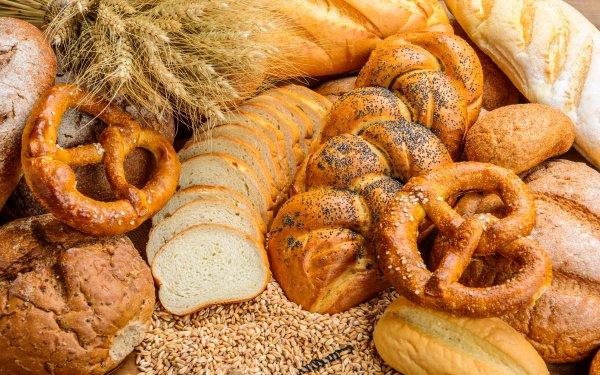Food Bread Baking Pretzel HD Wallpaper | Background Image