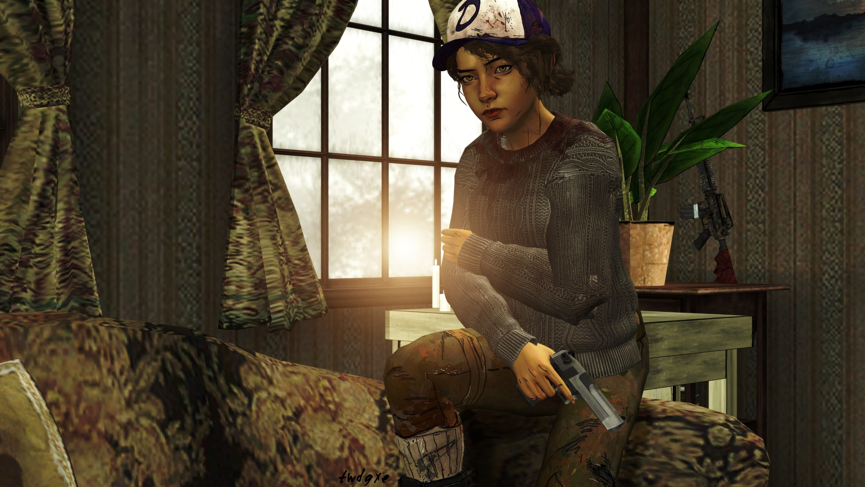 Clementine Sweater Hd Wallpaper Background Image