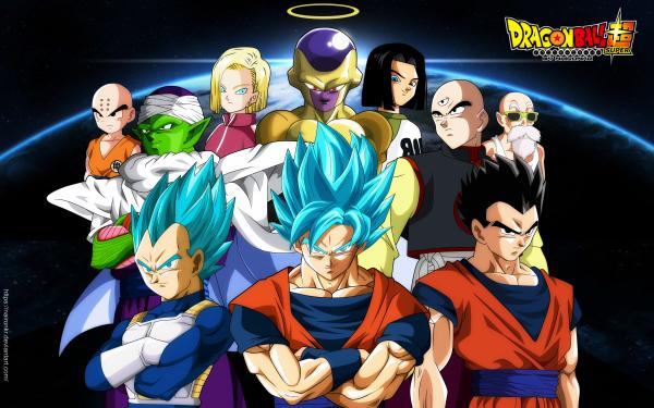 Anime Dragon Ball Super Dragon Ball Goku Vegeta Krillin Android 17 Android 18 Tien Shinhan Piccolo Gohan Master Roshi Frieza HD Wallpaper | Background Image