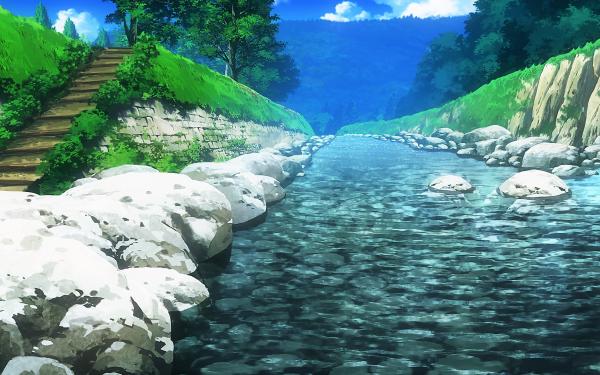 Anime Non Non Biyori HD Wallpaper | Background Image